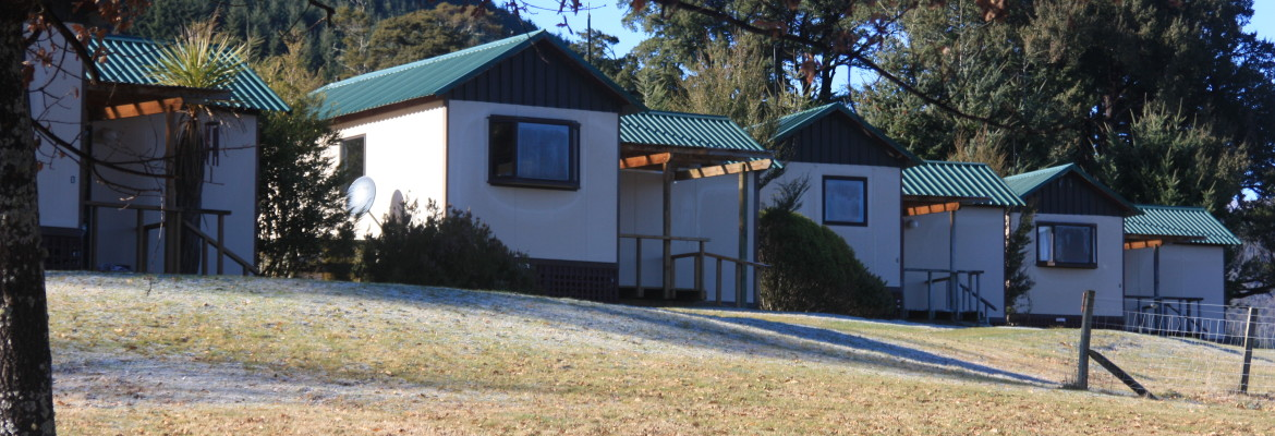 Accommodation cottages, fully self-contained