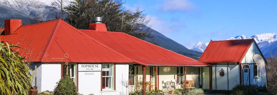 Explore an historic New Zealand inn
