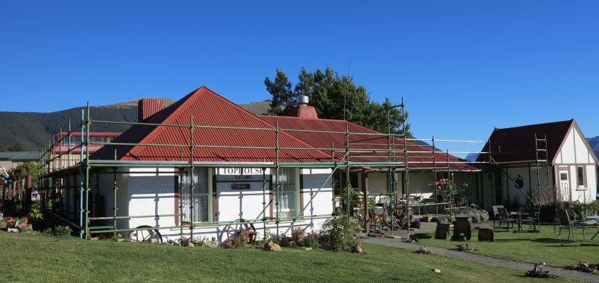 Tophouse gets a new Roof on Monday