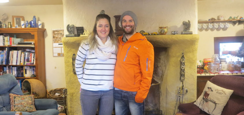 Andrea & Ales from Wellington had a great nights stay !!!