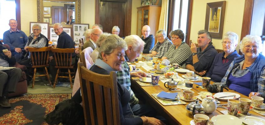 Blenheim Lions Club visit Tophouse