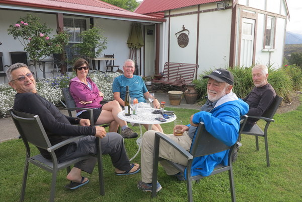 Travellers enjoying the Tophouse Hospitality