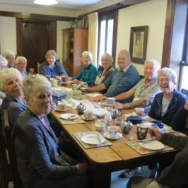 Tranzit Tours had Morning Tea at Tophouse